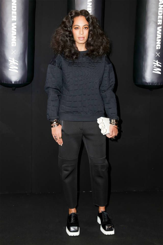 See all the pics from Alexander Wang's H&M collaboration launch party.