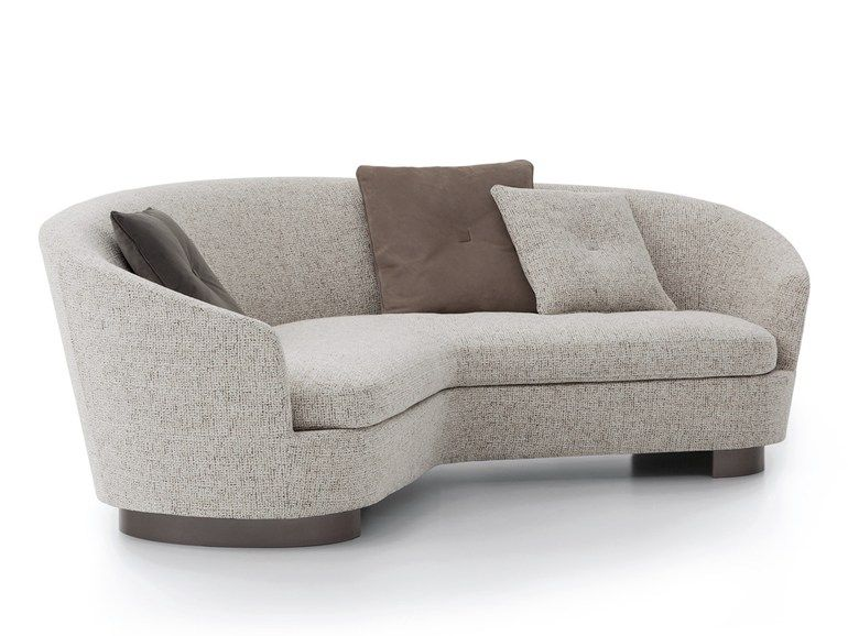 The Catalogue And Request Prices Of Jacques Curved Sofa By Minotti