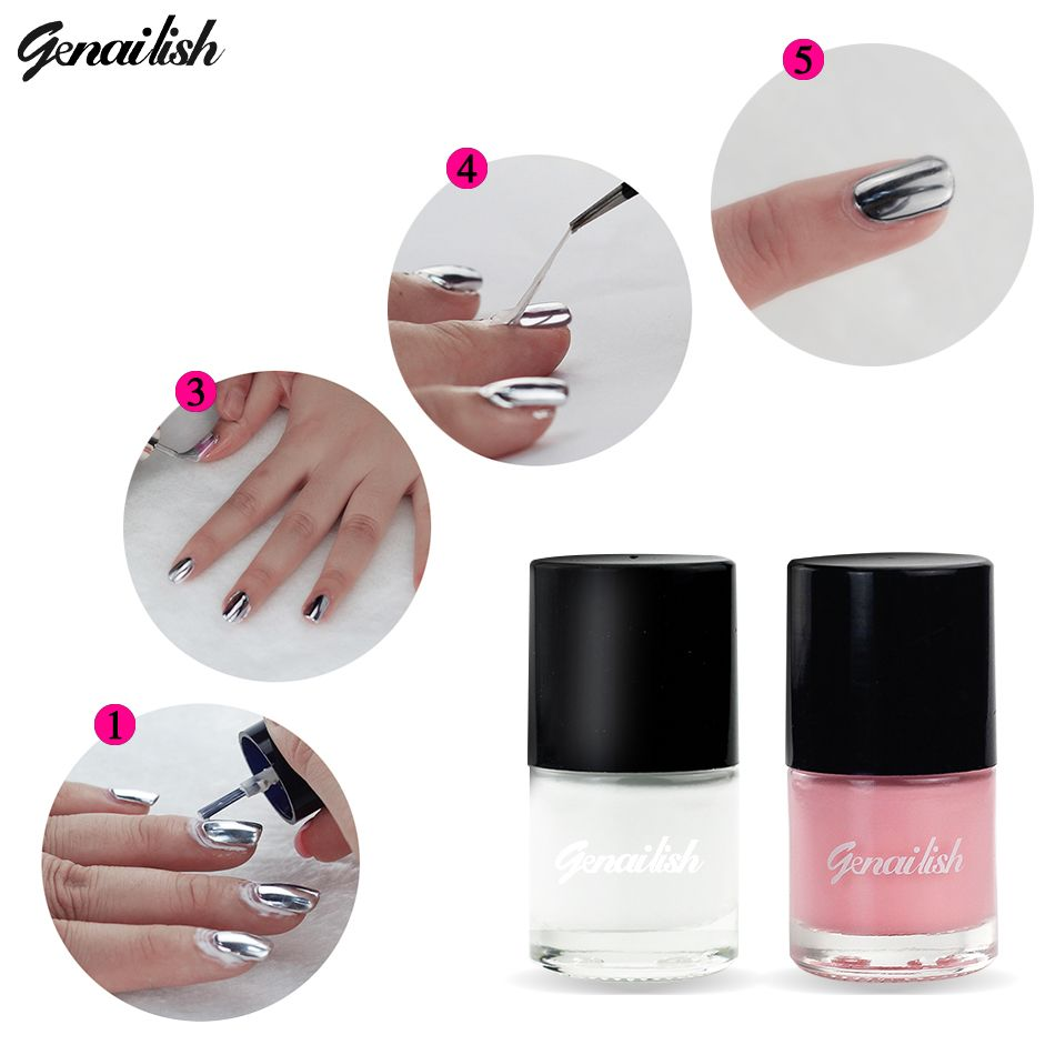 genailish Peel Off Nail Liquid Polish Shield Protector Nail Art Tape ...