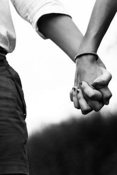 The CLASPING of  our Hands, Going for a walk together & discussing our dreams... somehow feels like You Have a Hold of my Heart in those hands... for good..