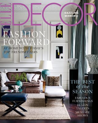 ELLE DECOR October 2011love The Rug