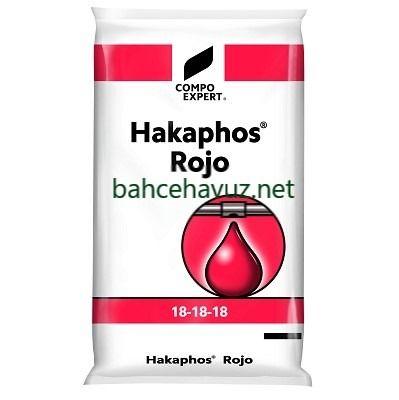 Photo of Hakaphos Rojo 18-18-18 Damla Sulama Gübresi | Makro-Mikro Besin