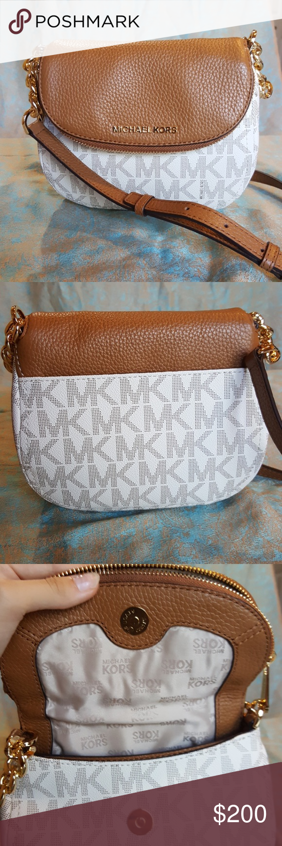 Michael kors shoulder bag Small leather crossbody with an adjustable strap and many openings for belongings Michael Kors Bags Crossbody Bags
