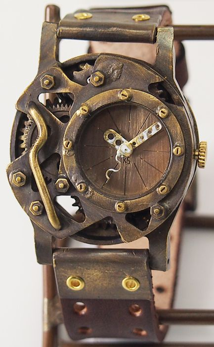 """136f330f39 【楽天市場】KS(ケーエス) 手作り腕時計 """"Lost Future−DEAD LAND 4"""" [KS-LF-05] JHA・日本手作り腕時計協会代表  篠原康治…"""
