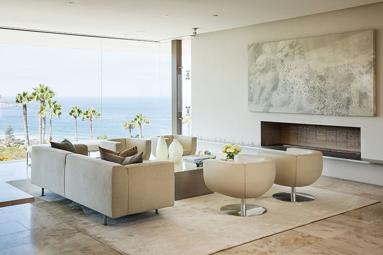 Inside A Contemporary La Jolla Glass House House Design Living Room Designs Living Room Interior