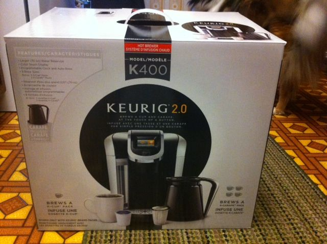 My new Keurig!