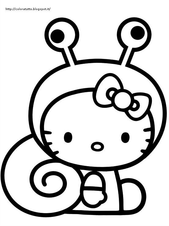 Coloring Pages Hello Kitty Dolphin : Hello kitty disegno da colorare n disegni