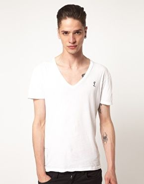 Enlarge Religion Basic V Neck T-Shirt