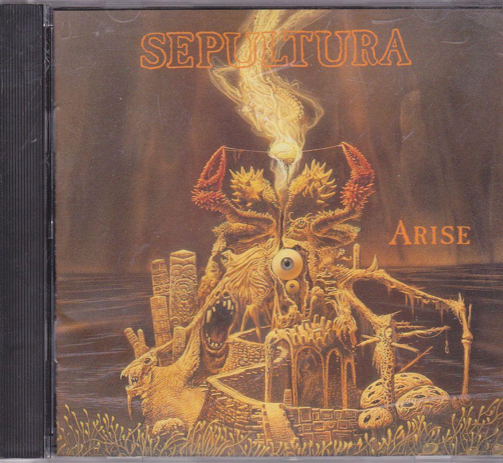 Sepultura / Arise / 1991 Roadrunner Records / Near Mint Metal CD / Max & Cavalera / Andreas Kisser #DeathMetal #Music