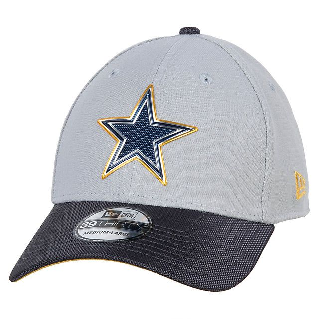e031feba Dallas Cowboys New Era Gold Collection 39Thirty Cap | DALLAS COWBOYS ...