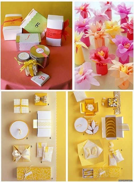 Creative Favor Packaging - Celebrations at Home