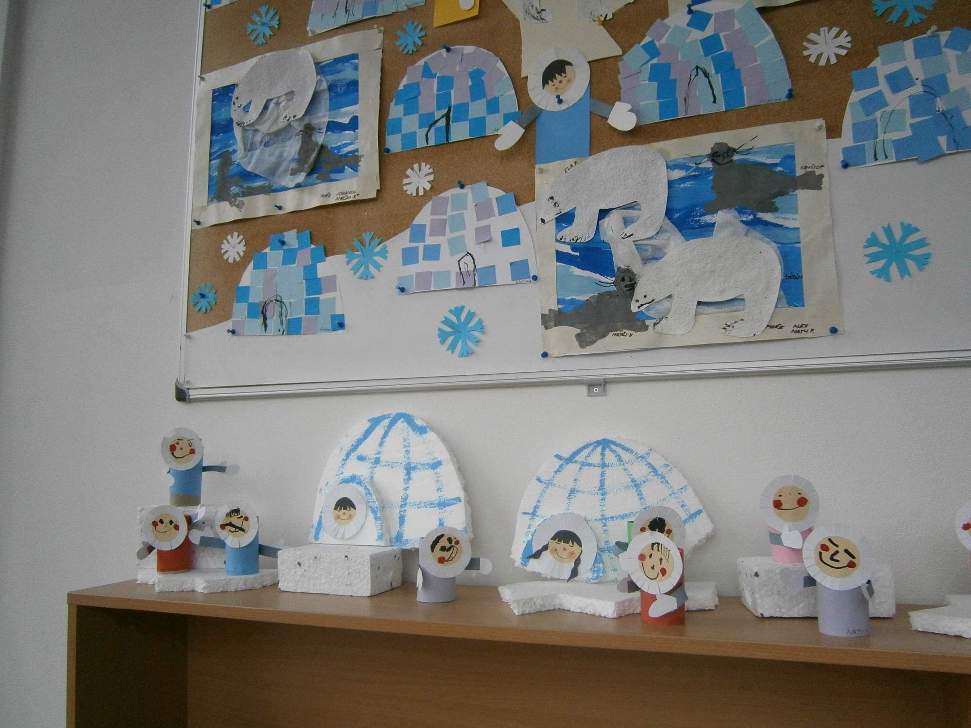 Pin By Jana On Zimni Tvo Eni S D Tmi Winter Kids Crafts