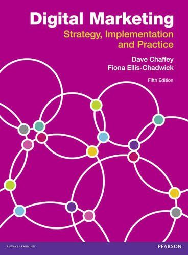 Digital Marketing: Strategy, Implementation and Practice