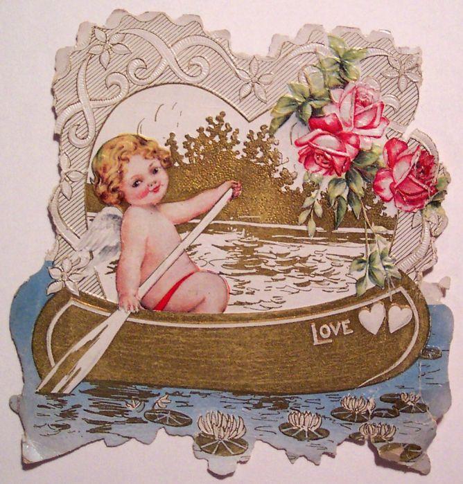 Любви семьи, винтажные открытки день влюбленных