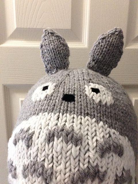 Totoro Knit Hat Pattern By Julie Chen I Knit So I Dont Kill