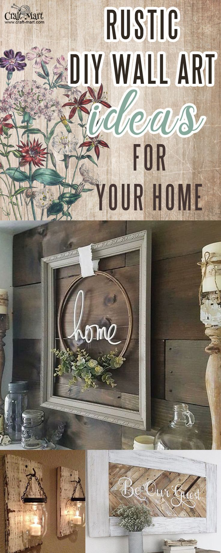 rustic wall art u decor ideas that will transform your home