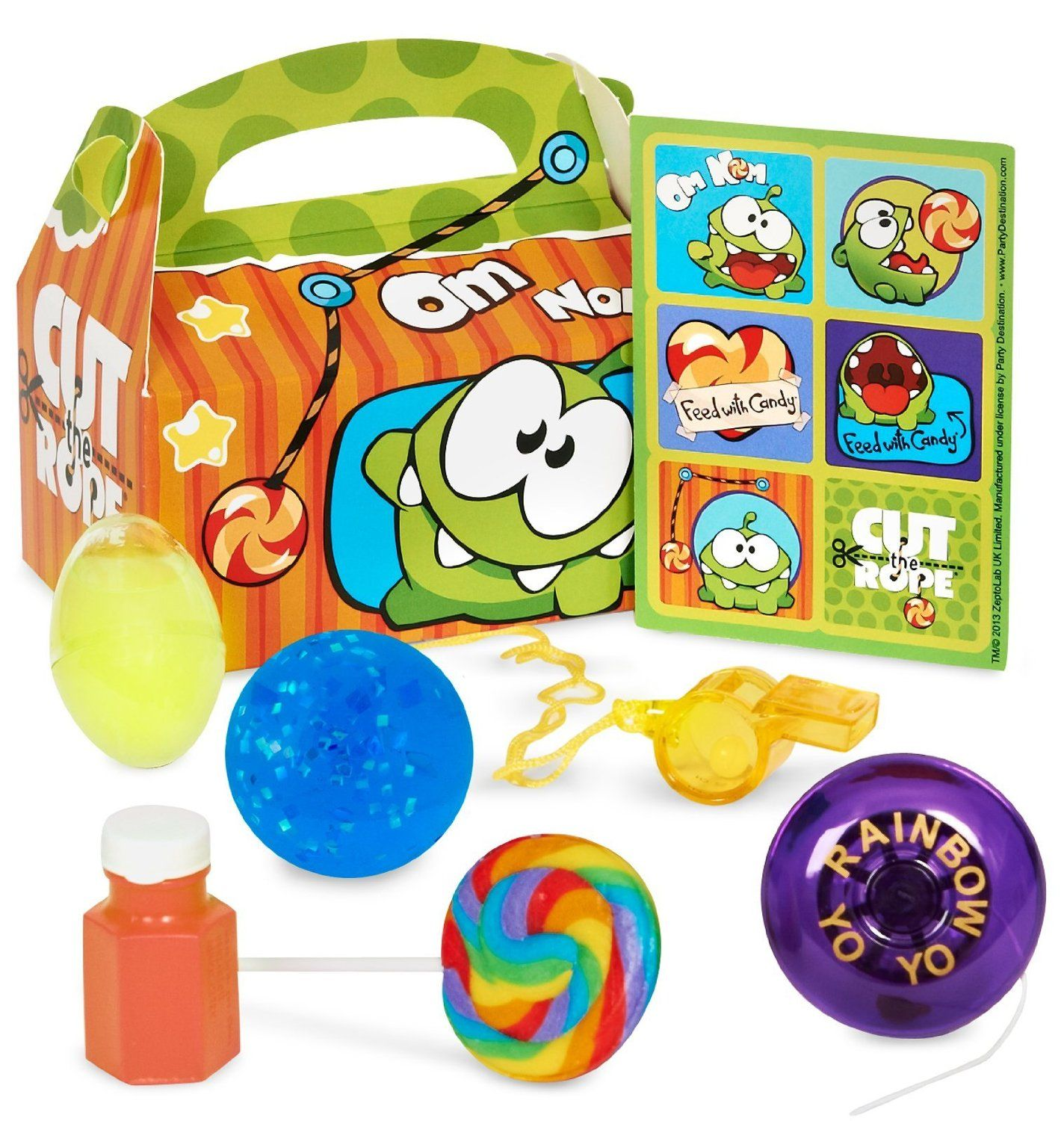 Cut The Rope Birthday Party Supplies Favors Birthday Pinterest