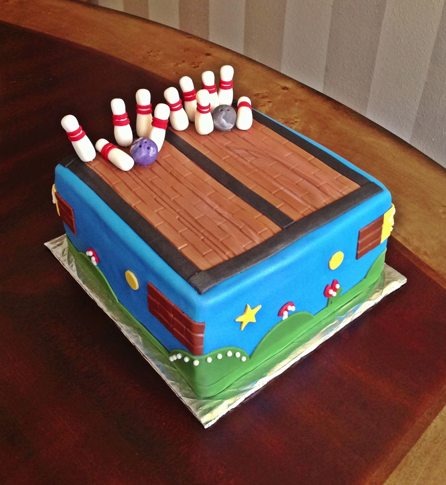 too sweeties bake shoppe super mario bros bowling cake too