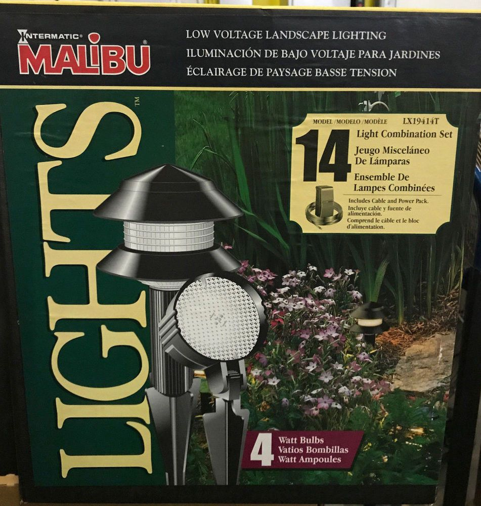 malibu low voltage outdoor path yard