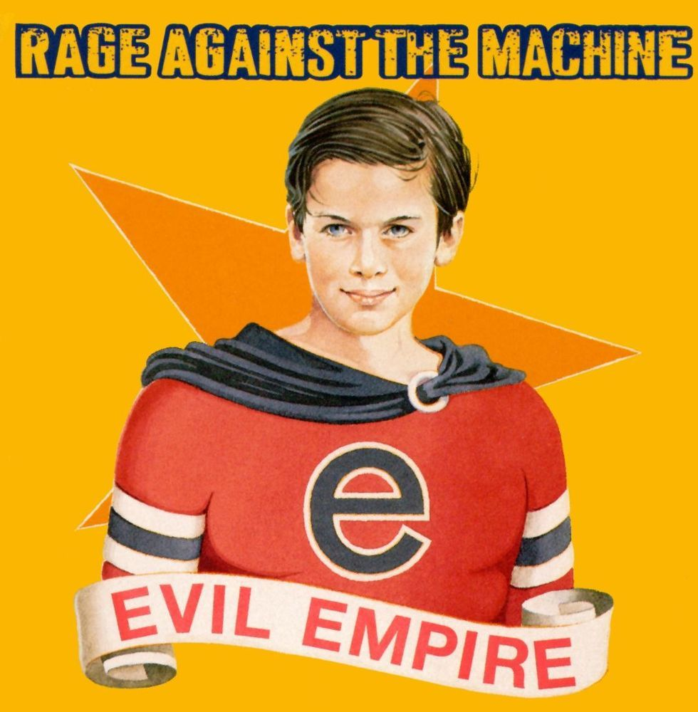 Best Buy Evil Empire Lp Vinyl Rage Against The Machine Famous Album Covers Evil Empire