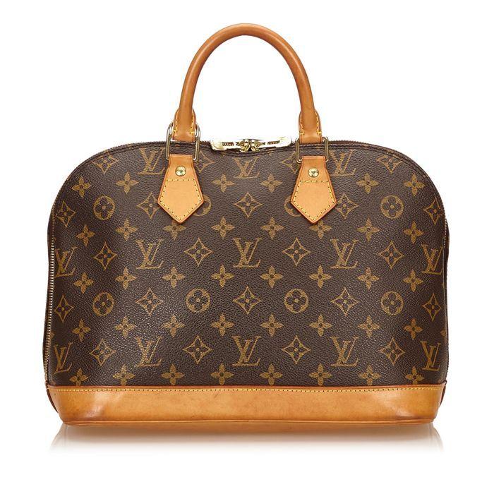04363bee31ef Louis Vuitton - Monogram Alma PM De Alma PM beschikt over een monogram  canvas lichaam rolde