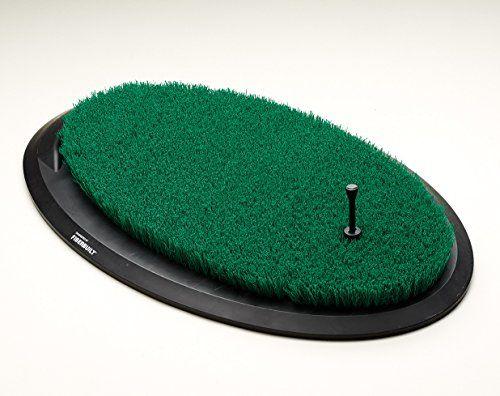 Golf Balls Ideas Fiberbuilt Flight Deck Golf Hitting Mat Oval Shape Outdoor Indoor Real Grasslike Performance Golf Ma Golf Hitting Mats Golf Mats Flight Deck
