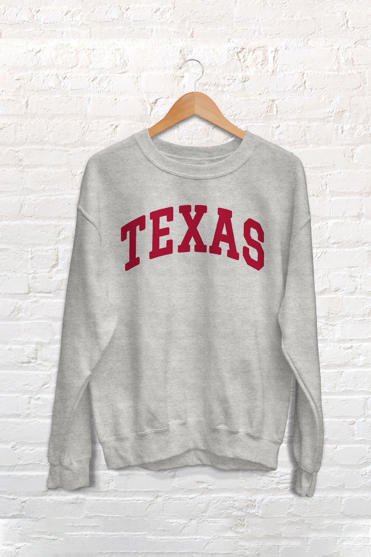 Texas College Sweatshirt Sweatshirts Crewneck Sweatshirt Women College Sweatshirt [ 3000 x 2000 Pixel ]