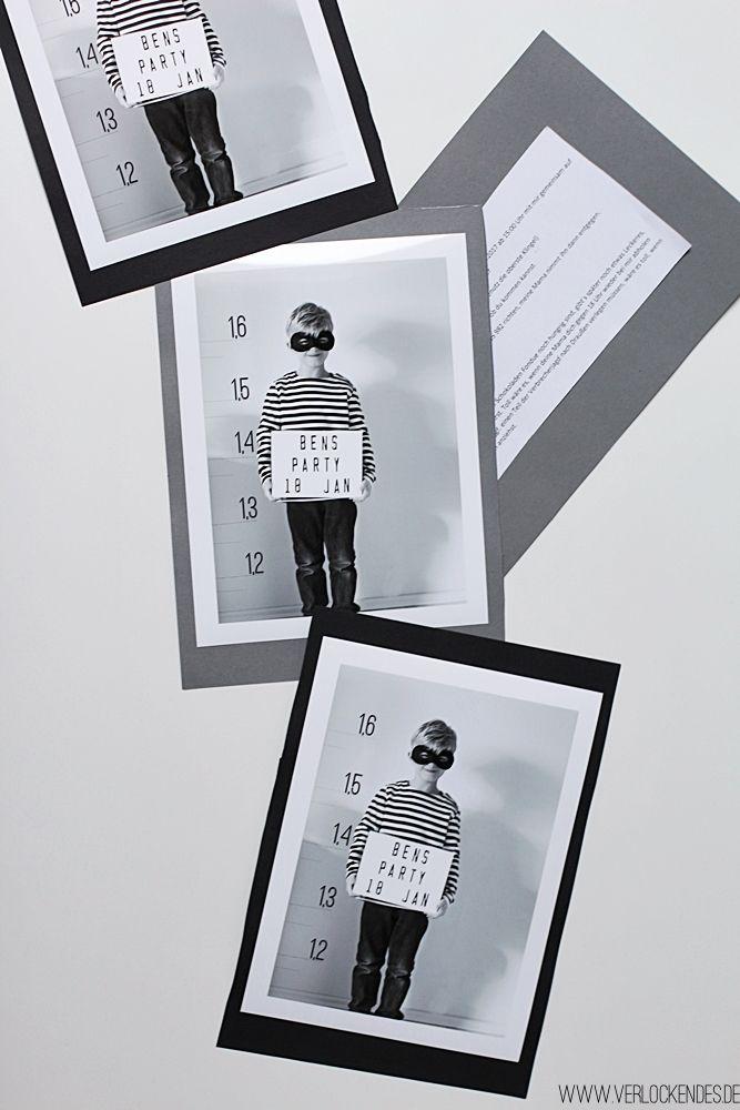 Photo of Polizei Kindergeburtstag | Polizei Spiele, Deko und Einladungen.
