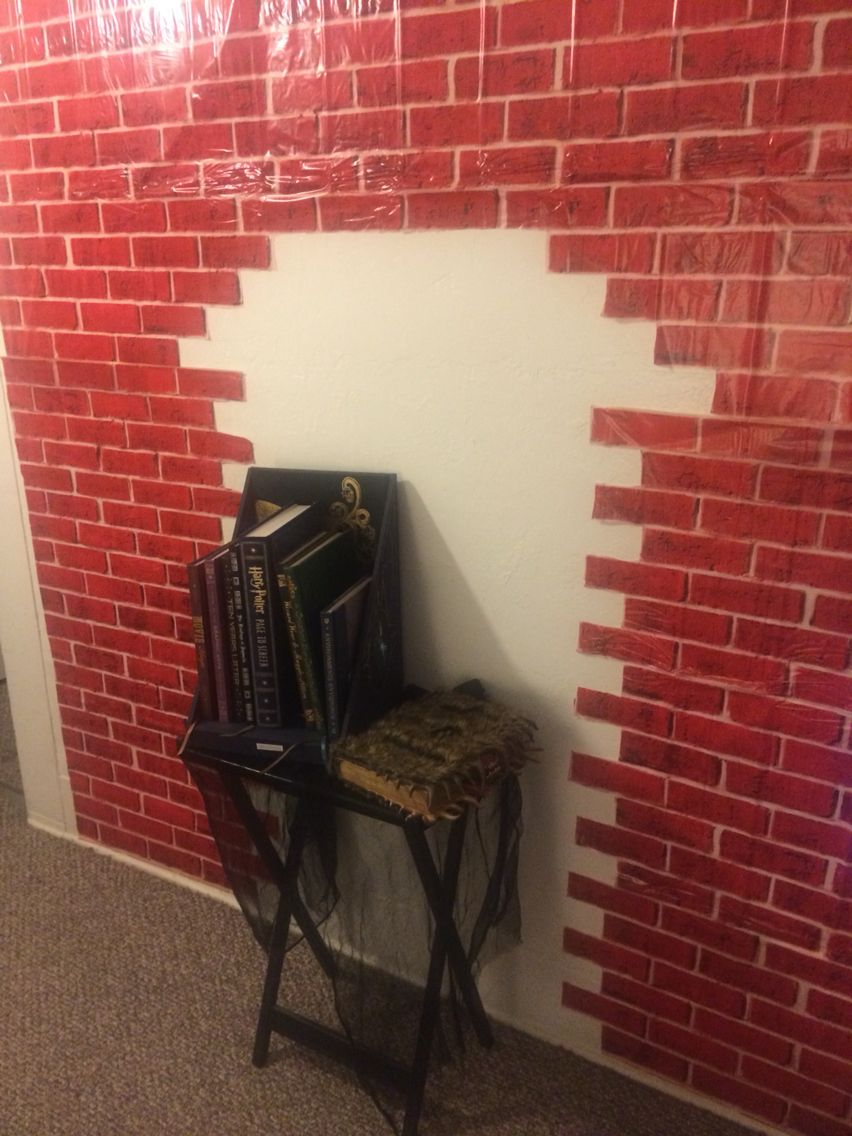 Creating my own Diagon Alley for Harry Potter Book Night Feb. 4!