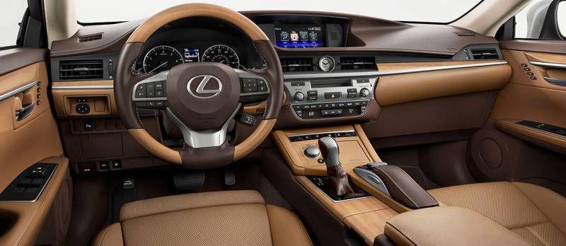 Check Out The 3 Interior Color Options For The 2019 Lexus Es Which Is Your Favorite Chateau Flaxen Or Black Lexus Lexus Es Lexus 350
