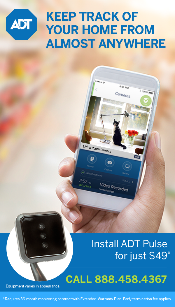 Adt Quote Manage Your Home's Security System Surveillance Cameras Lights .