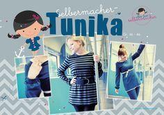 Kostenloses Schnittmuster für Tunika