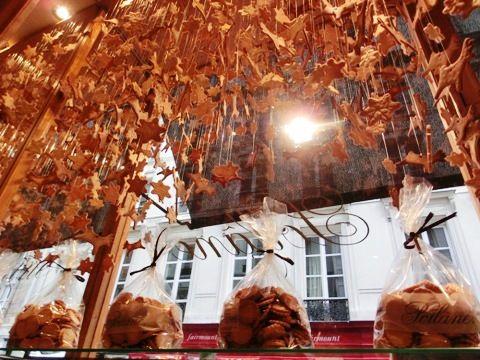 Poilane's ceiling display