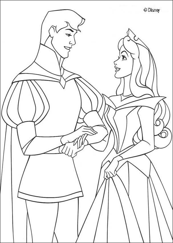disney couple coloring pages on each table  Disney Princesses