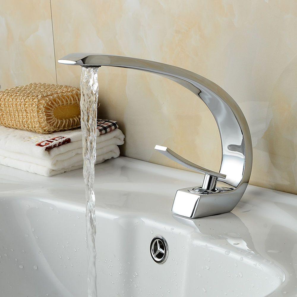 Design Waschtischarmatur Waschbecken Wasserhahn Mischbatterie Armatur Bad Dhl In Heimwerker Bad Kuche Armat Waschtischarmatur Waschbecken Kuche Waschbecken