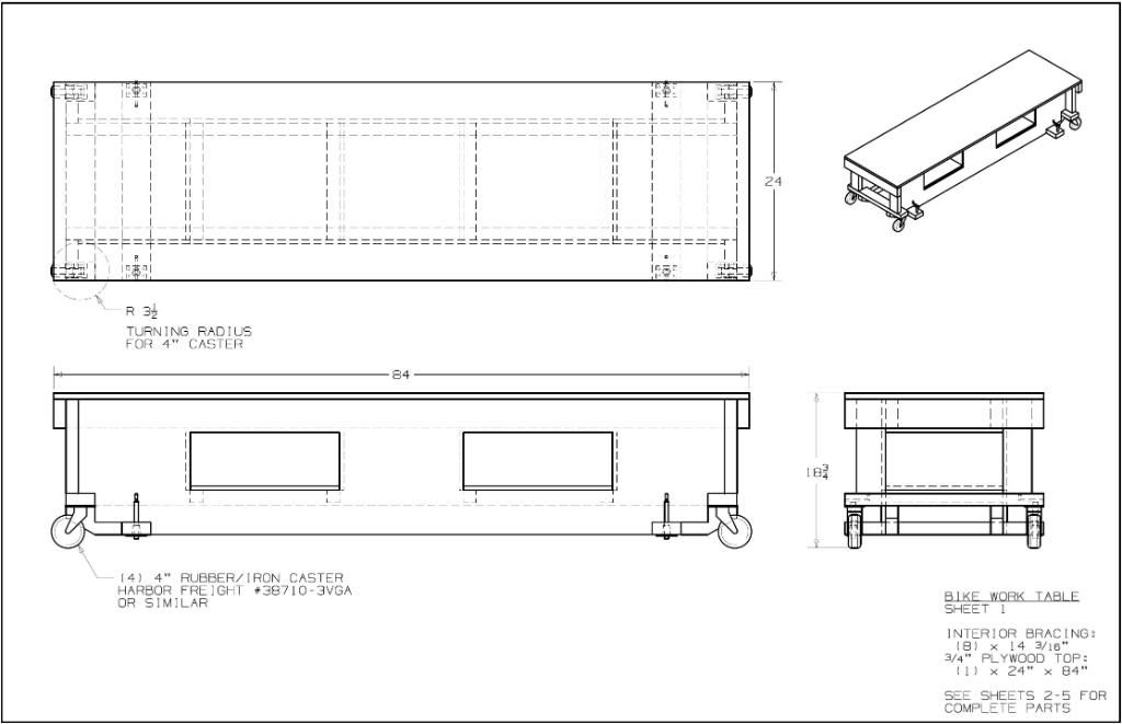 Avg Motorcycle Lift Dimensions : Motorcycle work table plans i got started today on my