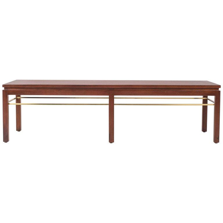 Peachy Dunbar Model 313 Coffee Table Or Bench By Edward Wormley Machost Co Dining Chair Design Ideas Machostcouk