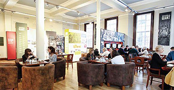 The Bobbin Coffee Shop Belfast City Hall Belfast City