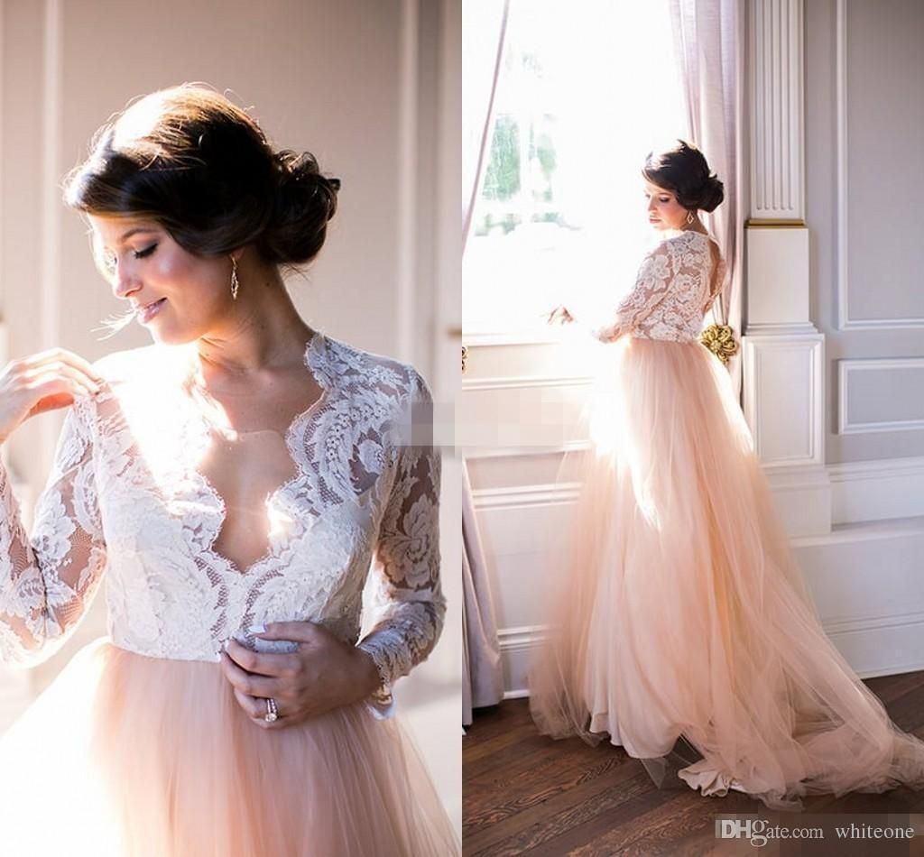 52323fdc23 Discount Summer Garden Country A Line Wedding Dresses Plus Size Lace ...