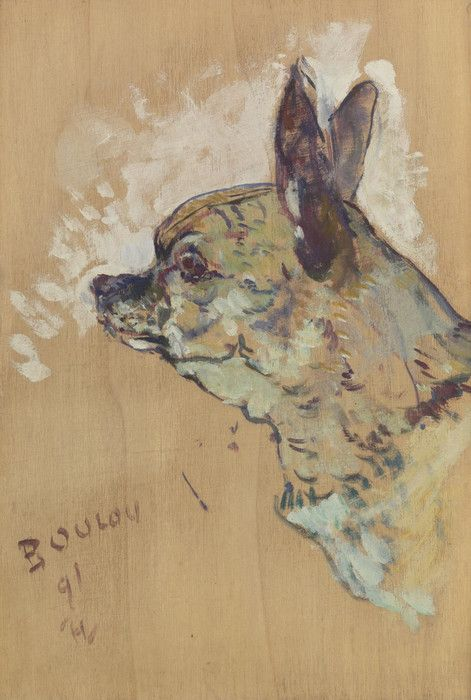 Boulou by Henri de ToulouseLautrec Fine Art Print in