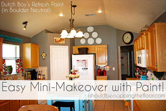 Easy Mini Makeover With Paint And A Great Contest Painting