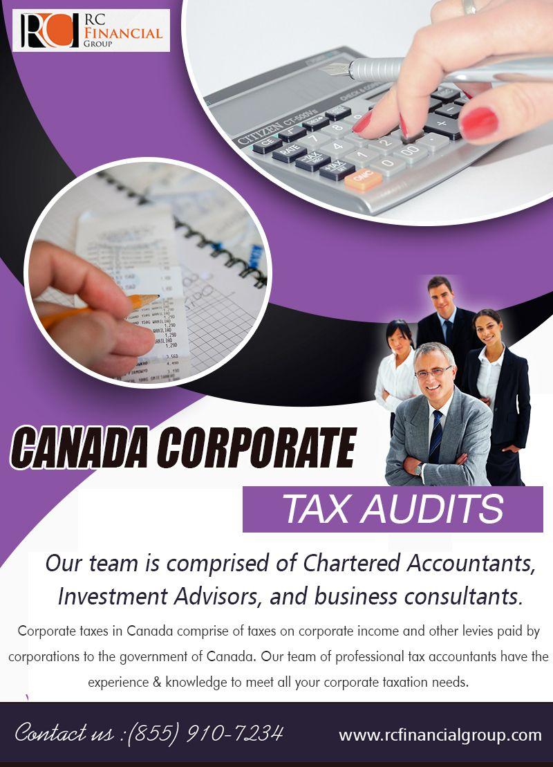CRA Tax Audit Investment advisor, Business tax, Audit