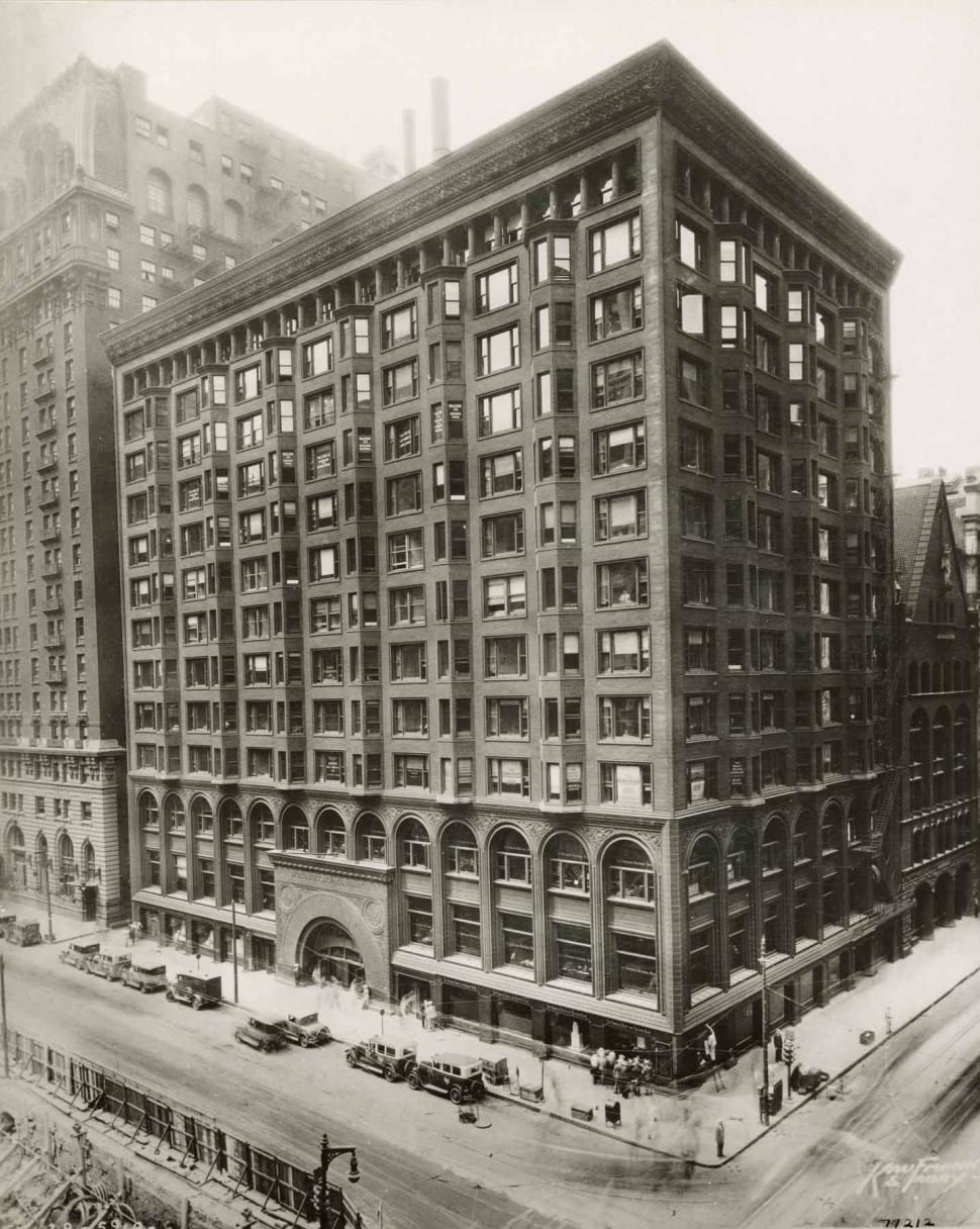 detailed look at chicago stock exchange building's 1894
