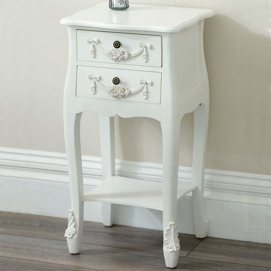Toulouse Bedside Table From Dunelm Mill Next On My List - Toulouse bedroom furniture white