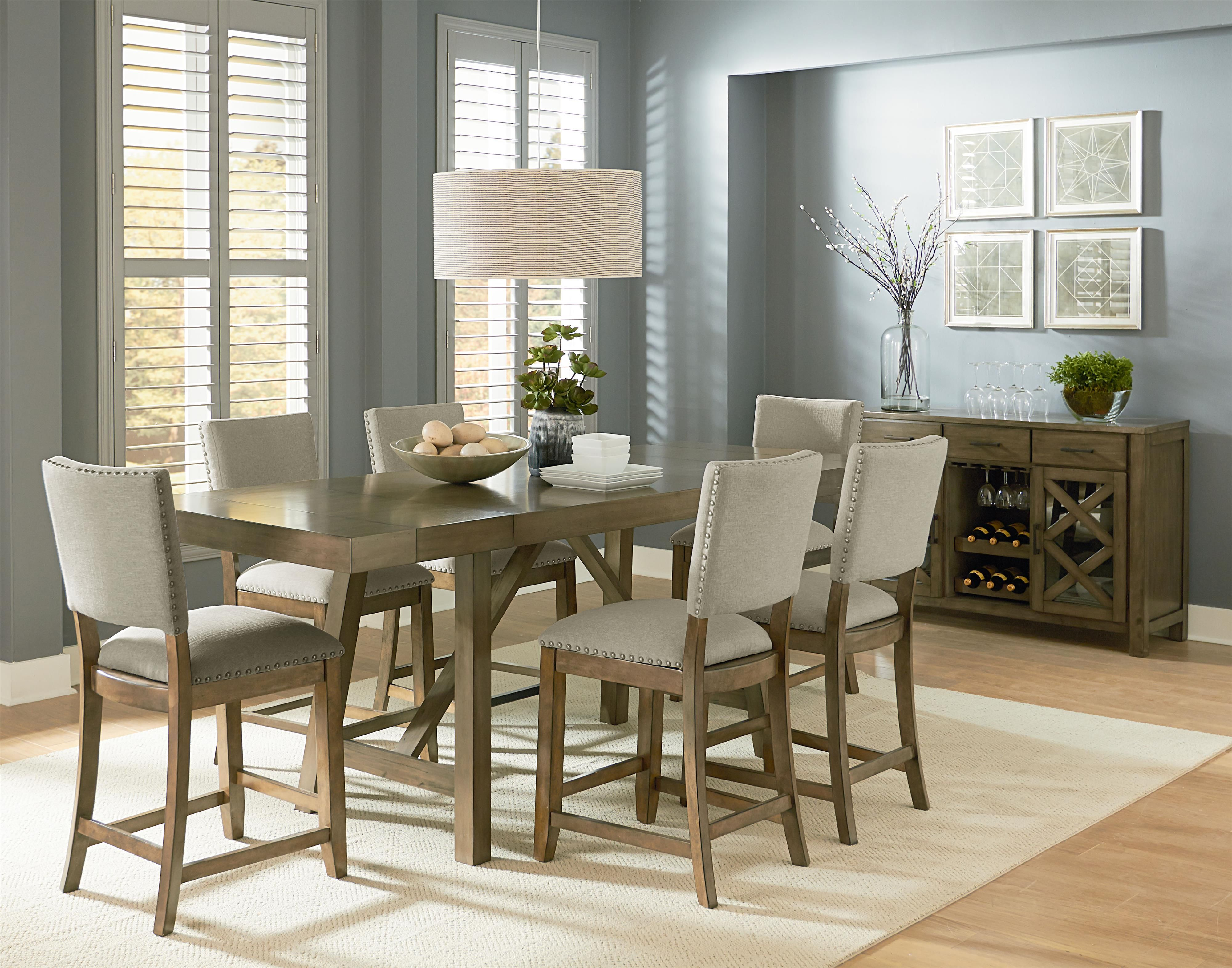Omaha Grey Casual Dining Room Group by Standard Furniture | Van-Hill ...