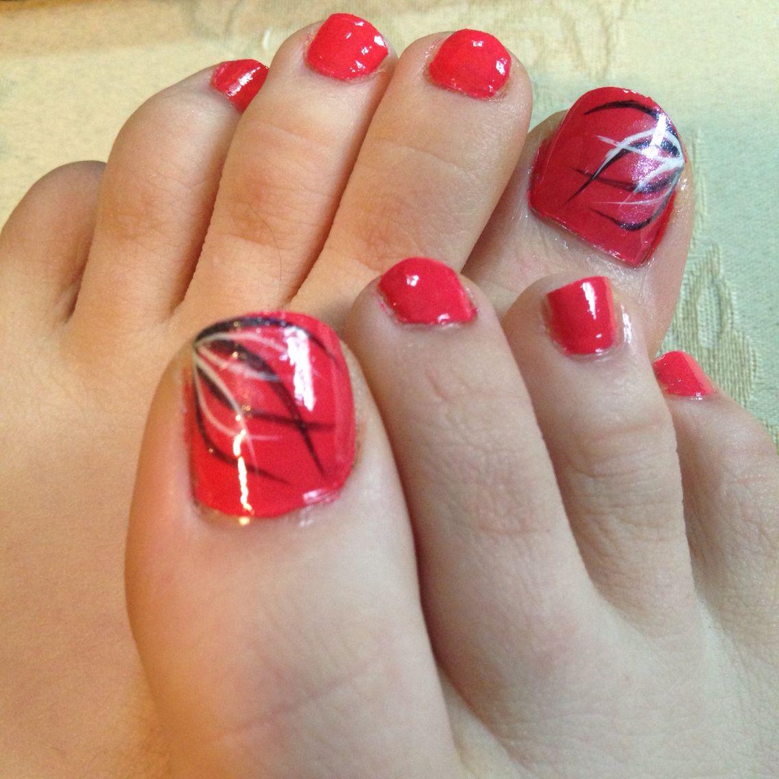 Easy summer toe nail designs | Easy toe nail designs, Toe ...