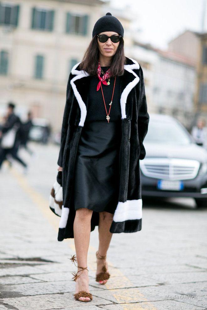 Уличная мода  Уличный стиль на неделе моды в Милане сезона осень-зима 2016 -2017 40247014bb4