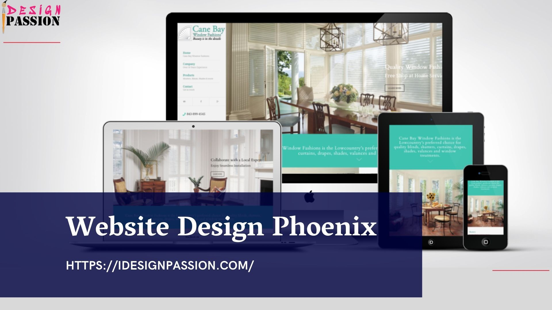 Idesignpassion Provides Website Design Solution In Phoenix So Contact Us For Building Creative Webs Web Design Firm Fun Website Design Creative Website Design