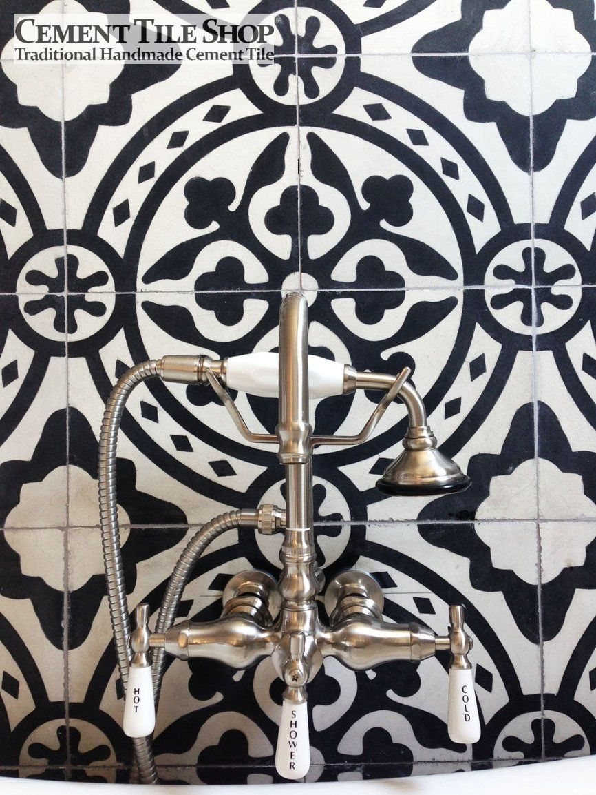 Cement Tile Shop - Tyler Pattern | bath  | Victorian homes