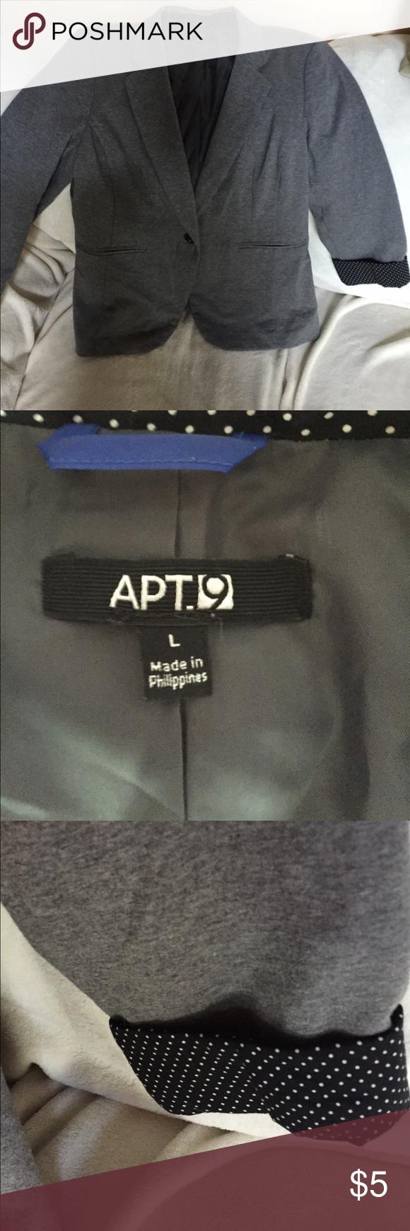 Apt 9 Blazer L | Blazers, Coats and Customer support